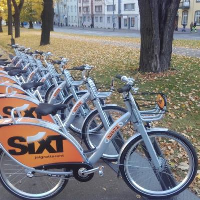 Uued Linnarattad, bikeshare Tallinn