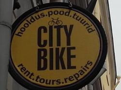City Bike rattapood ja -hooldus Tallinnas