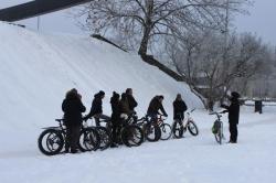 Talvine jalgrattatuur, rattarent, fatbike