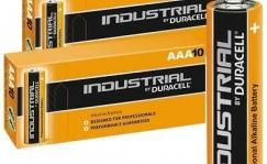 Patareid rattalambile, AAA (LR03), Duracell, Industrial versioon, 1.5V