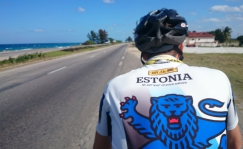 Cycling Jersey Estonia Lion