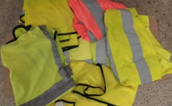 second hand reflector vest