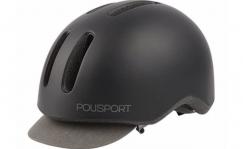 Polisport Commuter helmet with light, L