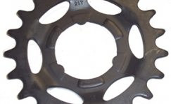 Rear sprocket Shimano 1 speed.