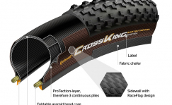 Continental Race King ProTection 29x2.2 foldable