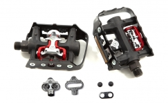 PedaalidWellgo WPD-982 Double Sided Platform / SPD Clipless Pedals