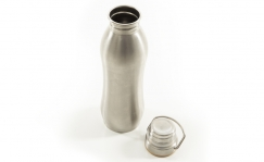 Holdsworth Les Paris Stainless Steel Curved bottle