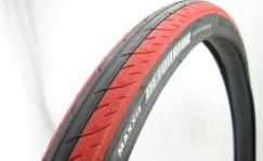 Maxxis Detonator with red stripe