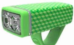 Knog POP front light, green