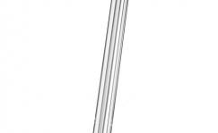 Sadulapost Ergotec 25,4x300mm