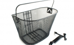 Front basket with handle