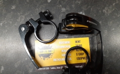 Promax saddle clamp 31.8mm QR