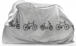 Azimut bicycle cover, gray