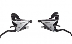 Shimano ST-EF65-2A Brake/Shift Lever Set 3x8