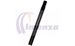 Steel seatpost 25,4 x 400mm black