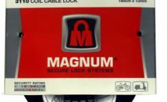 Magnum 3110 coil cable lock