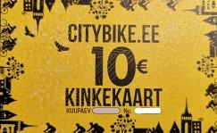 Citybike Kinkekaart 10 EUR