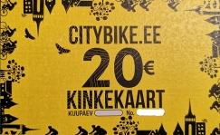 Citybike Kinkekaart 20 EUR