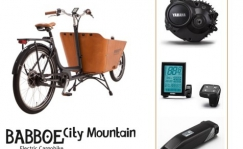 Babboe City Mountain E transpordiratas