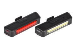 Jobsworth Canopus rechargeable front and rear light