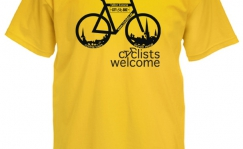 Cyclists welcome T-särk
