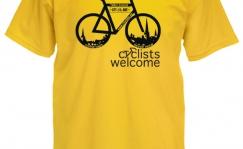 Cyclists welcome T-särk