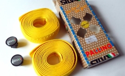 Silva Pallino bar tape, yellow/blue/red/black