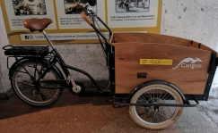 Used Electric bike Bakfiets Cangoo Groovy