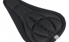 Ergonomic saddle cover
