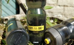 City Bike logoga Zefal veepudel