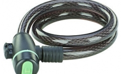Prophete cable lock with led light