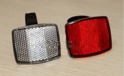 Bicycle reflectors set