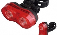 X-Light rear light, 2 x 0.5 W
