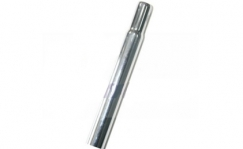 Seat post, 25.4 x 400 mm, steel nickel-plated