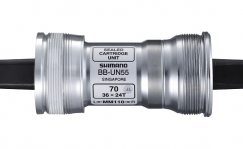 Keskjooks Shimano UN55 68x107mm