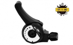 Sunrace SLM2T THUMB SHIFTER LEFT 2/3-SPEED FRICTION