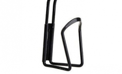 Bottle cage black aluminium