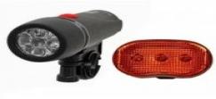Azimut Bicycle Light set TORCH + OVAL